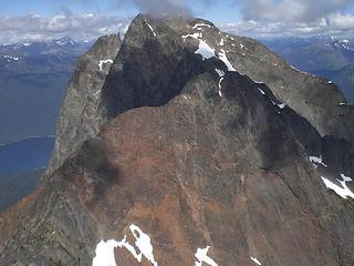The traverse to N Peak.