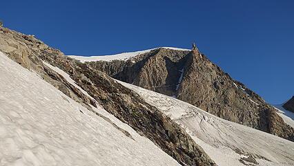 Ascending gentle slopes