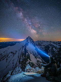 Milky Way over Sloan