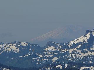 Mt. St Helens from Crystal Peak summit.
