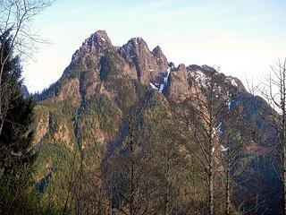Russian Butte seen from Moolock, April 2014