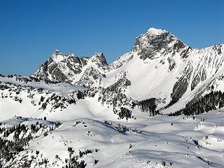 Canadian & American Border Peaks