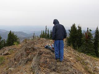 Miller Peak summit.