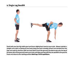 Try using opposite arm/leg