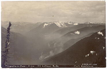 Snoqualmie Pass from McClellan Butte