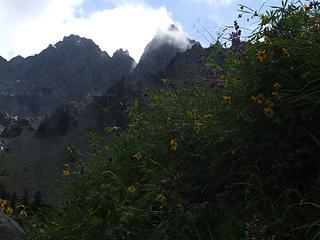peaks west of White Mountain