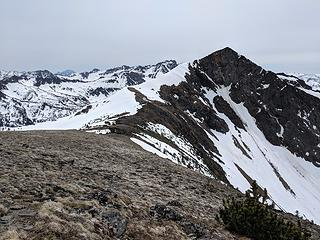 Middle C from the northern peak