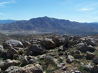 Granite Mtn. to the south
