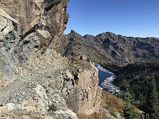 gouged trail