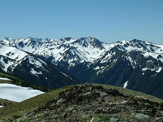 Mt. Anderson from Obstruction Peak