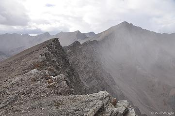 James Dalton Mountain hike, Dalton Highway, in the arctic