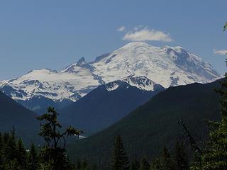 So long, farewell, Auf Wiedersehen, goodnight to Mt. Rainier.