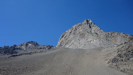 Cerro Arenas east face