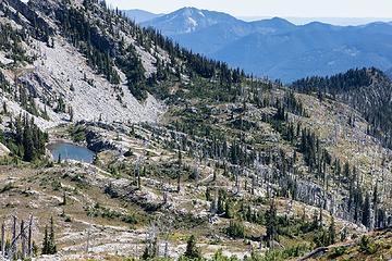 Upper Vista lake