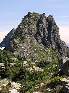 Wing Peak from Tailgunner Ridge