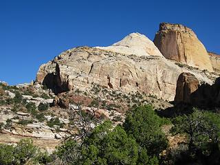 Golden Throne, Capitol Reef National Park