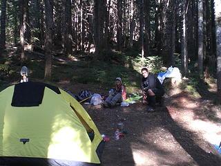 Fay and I at Luna Camp.