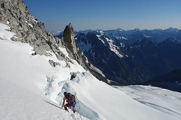 Upper Chikamin Glacier