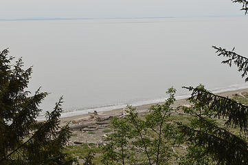 Beach from the trail