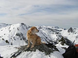 Sadie at Sadie's Point