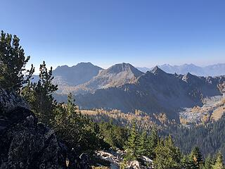 Looking south to Finney Peak
