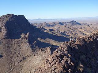 on the high west ridge