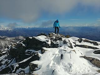 On the summit