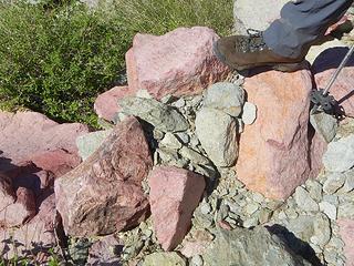 famous pink boulders