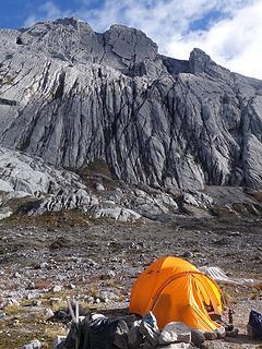 Puncak Jaya only 1,800 feet above