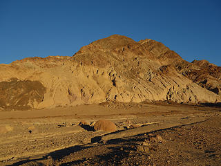 sunset in Death Valley National Park, CA