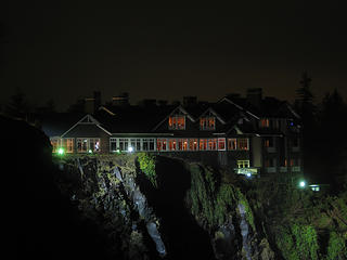 NWHikers net - View topic - Snoqualmie Falls at night