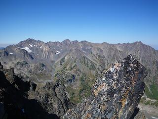 north from Stephen Peak