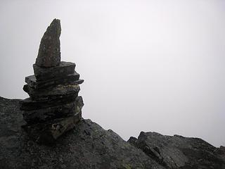 Rampart summit cairn