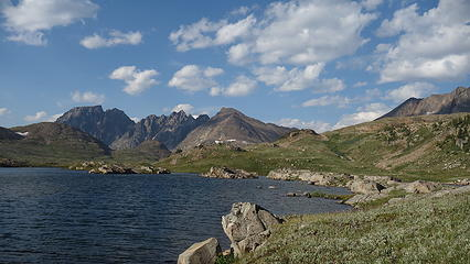 Goose Lake and Sawtooth Ridge