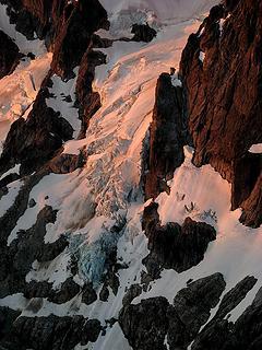Degenhardt Glacier Alpenglow