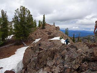 Milton Mtn Lookout site 7152.'