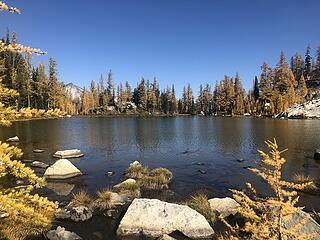 Upper Finney Lake (a bit shallower than Lower Finney)