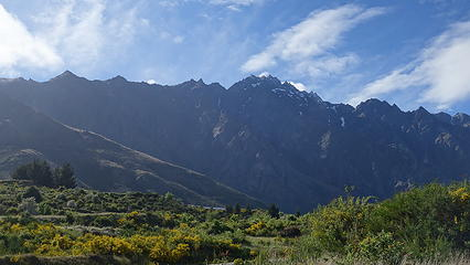 West side of the Remarkables