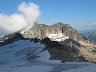 Mox Peaks and the Ridge of Gendarmes.