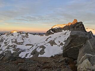 West Tenpeak at sunrise