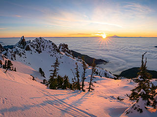 Mt. Ellinor Sunrise