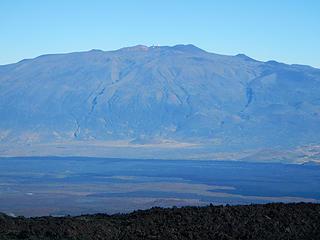 Mauna Kea seen from Mauna Loa