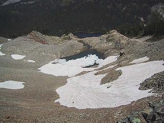 """My 2005 pic of what remains of the Pinnacle """"Glacier"""""""