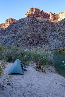 hermit rapids camp