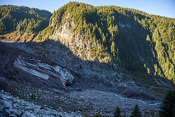 Outlet Stream from Mouth of Carbon Glacier
