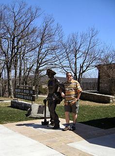 C.C.C. statue in Shenandoah National Park