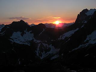 Pickell Pass Sunset 1