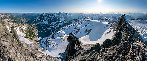 Hinman summit pano