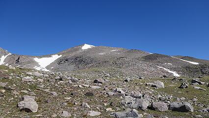 Looking back at Wind River Peak