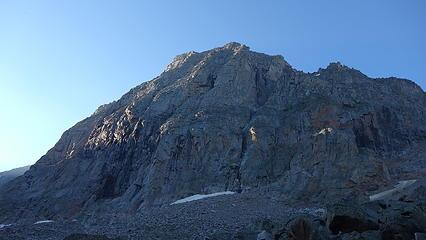 Steep NW flank of Glacier Peak